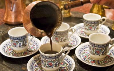 Арабский кофе со сливками