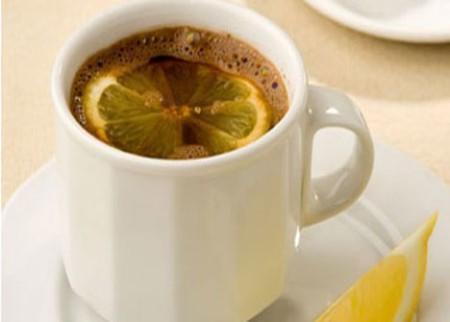 Кофе с лимоном для похудения