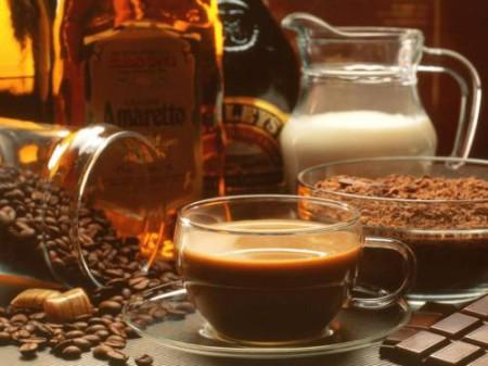 Кофе с коньяком и молоком