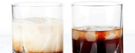 Коктейль Кофе, Кола, водка