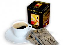 Кофе для похудения Минсер