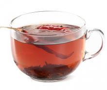 Черный чай с перцем