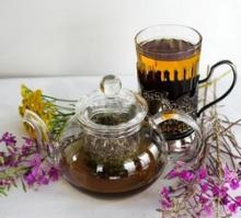 Черный чай с чабрецом и его польза