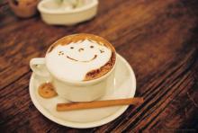 Приготовление кофе капучино