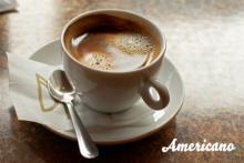 Приготовление кофе американо