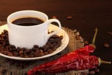Кофе с перцем и корицей