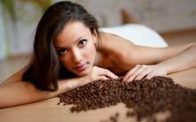 Обертывание с кофе и медом